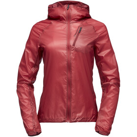 Black Diamond Distance Veste Shell coupe-vent Femme, wild rose